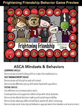 SOCIAL SKILLS: Frightening Friendship Behavior Game