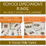 SOCIAL SKILLS & SCHOOL EXPECTATIONS MEGA BUNDLE FOR AUTISM