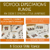 SOCIAL SKILLS & SCHOOL EXPECTATIONS MEGA BUNDLE FOR AUTISM