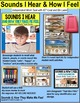 """SOCIAL SKILLS Task Cards SOUNDS and HOW THEY MAKE ME FEEL """"Task Box Filler"""""""