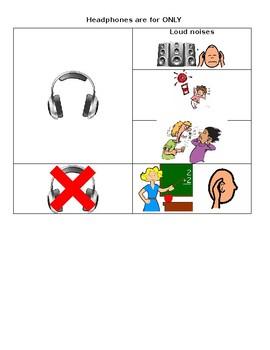 SOCIAL SKILLS- Use headphones