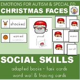 SOCIAL SKILLS and EMOTIONS  FOR AUTISM CHRISTMAS FACES