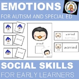 SOCIAL SKILLS and EMOTIONS  FOR AUTISM WINTER FACES
