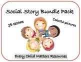 SOCIAL STORY BUNDLE PACK- 25 TOTAL