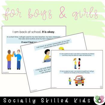 SOCIAL STORY: I Am, Back At School! {Teacher Version}