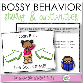 SOCIAL STORY: I Can Be The Boss Of Me! For {k-2nd Grade OR