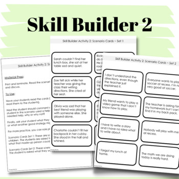 SOCIAL STORY + Activity: Asking For Help {For K-2nd Grade or Ability Level}
