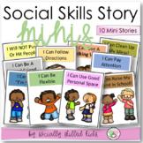 SOCIAL STORY MINI BOOKS    10 Social Stories For Basic Skills
