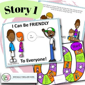 SOCIAL STORY Pack 5 { Friendship Skills, k-2nd }