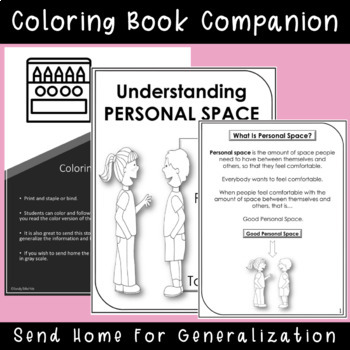 SOCIAL STORY Understanding Personal Space {k-2nd Grade or Ability}