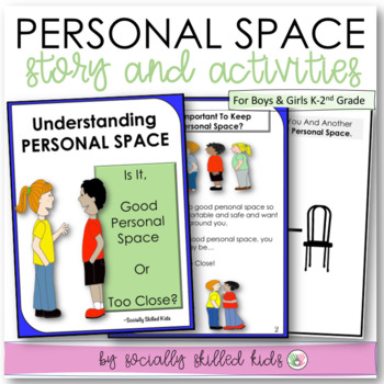 Personal Space SOCIAL STORY  {K-2nd Grade or Ability}