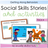 Social Stories and Activities   Pack 8   For 3rd-5th   Get