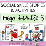 SOCIAL STORY SKILL BUILDER MEGA BUNDLE 3 | For K-3rd Grade | Distance Learning