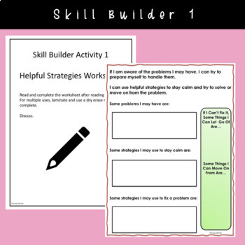 SOCIAL STORY~ Using Helpful Strategies {3rd-5th Grade or Ability}