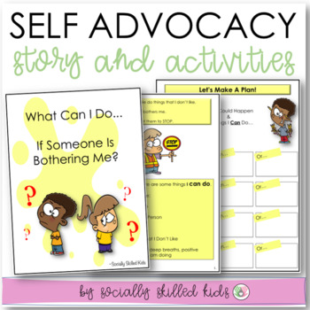 What Can I Do If Someone Is Bothering Me Social Story Skill Builder