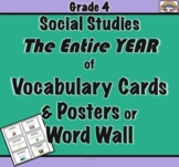 SOCIAL STUDIES GRADE 4 VOCABULARY PDF INTERACTIVE NOTEBOOKS