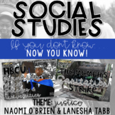 SOCIAL STUDIES: NOW YOU KNOW (justice)