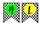 SOCIAL STUDIES BANNER--Polkadots and Bright Letters