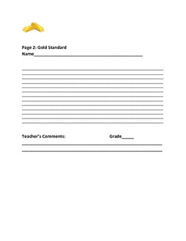 SOCIAL STUDIES WRITING PROMPT: THE GOLD STANDARD RETURNS?