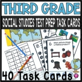 Social Studies 3rd Grade Tasks Scoot Game for State Testin