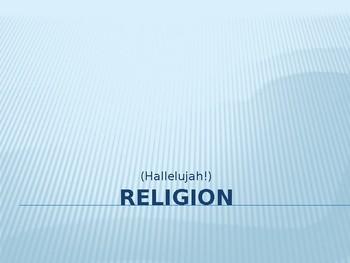 SOCIOLOGY - Religion PPT