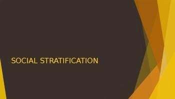 SOCIOLOGY - Social Stratification PPT