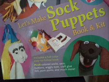 SOCK PUPPETS BOOK AND KIT