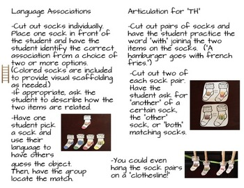"""SOCKS! A Language Association and """"TH"""" Artic Activity"""
