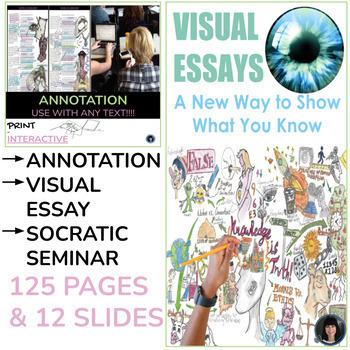 SOCRATIC SEMINAR, VISUAL AND INTERPRETIVE NOTE-TAKING - BUNDLE