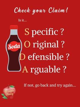 SODA Strategy poster