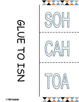 SOH CAH TOA Foldable