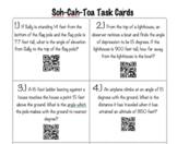 SOH-CAH-TOA TASK CARDS