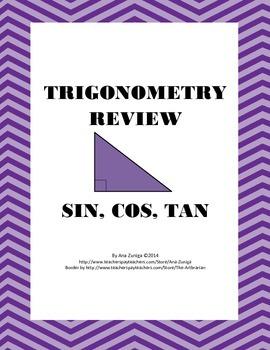 SOH-CAH-TOA Trig Review