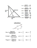 SOHCAHTOA Trigonometric Functions