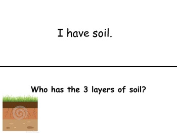 SOIL I Have...Who Has...?