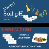 SOIL pH and LIMING ACID SOILS - BUNDLE