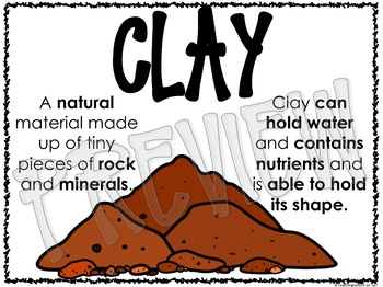 SOILS IN THE ENVIRONMENT Science Concepts Posters