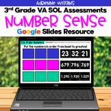 SOL 3.1 Number Sense Assessments - Google Slides - Distanc