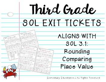 SOL 3.1 Exit Tickets
