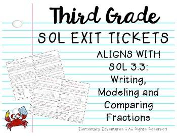 SOL 3.3 Exit Tickets