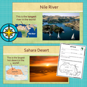 SOL 3.6 Geographic Features PPT and Notes