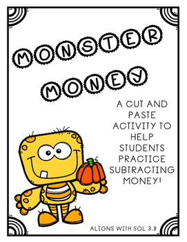 SOL 3.8 Monster Money Subtraction