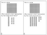 SOL 4.3 Write Decimal Model Task Cards