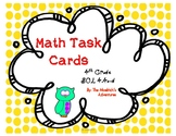 SOL 4.4 a-d / Math Task Cards / Whole Numbers Operations