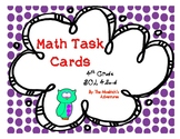 SOL 4.5 a-d / Math Task Cards / Computations (Fractions and Decimals)