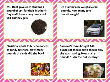 SOL 4.6 Measurement Weight Word Problems