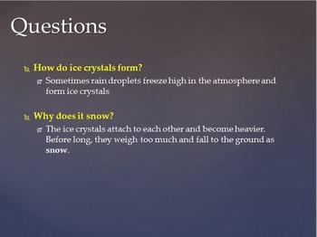 SOL 4.6: Temperature, Wind, & Precipitation Powerpoint