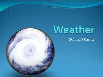 SOL 4.6: Weather Powerpoint