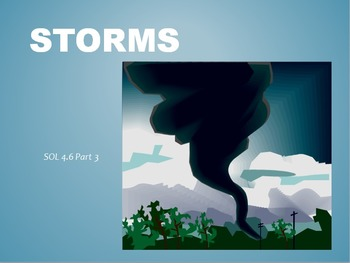 SOL 4.6: Types of Storms Powerpoint