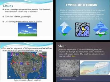 SOL 4.6: Weather Powerpoints Bundle